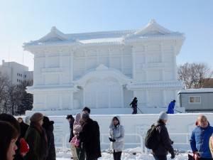 新歌舞伎座雪雕