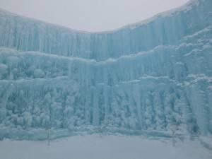 名為「Big Mountain」的作品,呈現有如冰谷一般的雄偉氣勢