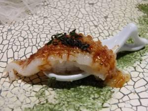 プリプリな食感が楽しいアナゴ寿司