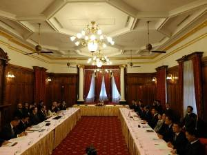 会場となった台北賓館は、元台湾総督官邸