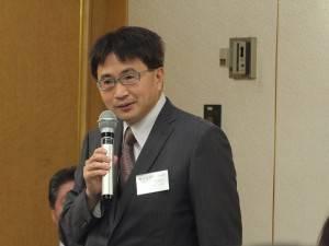 石川縣台灣華僑總會會長陳文筆,首次參加總會會員大會