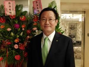 世界台商会聯合総会李芳信総会長