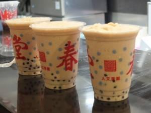 台灣道地口味的珍珠奶茶,開賣不到4個小時就賣光了