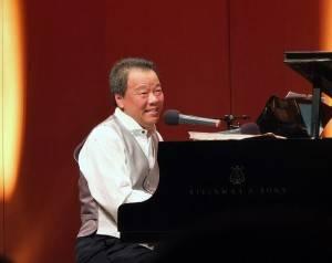 2度獲邀參加爵士音樂節的駐日代表處僑務組組長趙雲華