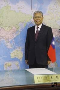 宏觀電視專訪僑務委員會委員長陳士魁(照片提供:宏觀即時新聞網)