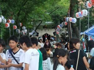 山縣神社學問文化祭吸引相當多的觀光客前來參加