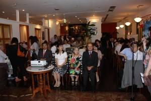 軍人節を祝い、多くの華僑が集った