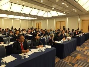 京濱地區僑務座談會,有近60位僑界代表、僑務顧問、僑務諮詢委員出席參加