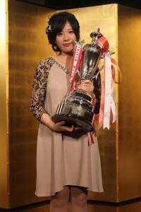 ドコモ杯女流棋聖戦で2連覇を成し遂げた謝依旻さん