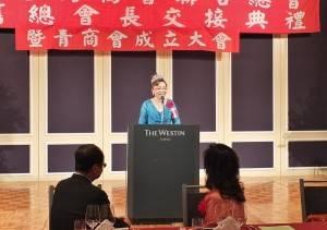 日本台商總會會長謝美香未來也將投入培育青商成員,進而希望提升日本台商總會的影響力