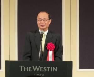 駐日代表沈斯淳出席大會,盼在日台商能分享日本在地的台商精神至世界各地