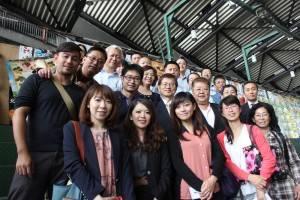 日台貿易商談会の参加者達