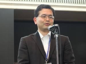 東京國立博物館總務部長栗原祐司負責向媒體說明開箱儀式取消的原由