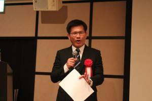 台湾の立法委員・林佳龍氏
