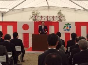 中華民國紅十字總會副會長葉金川出席祈福與動土儀式