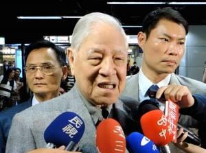 李登輝元総統(写真提供:中央社)