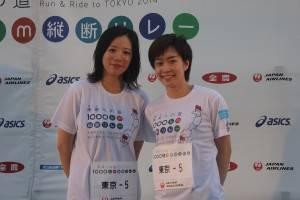 囲碁女流棋士・謝依旻さんと卓球の石川佳純選手
