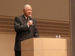 講演にて日本に真の自立を促した李登輝氏