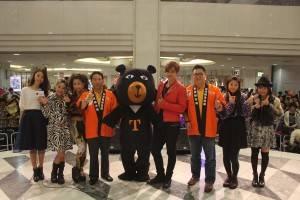 ショウ・ルオ(右4)が来日で台湾観光をPR