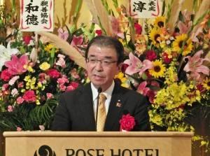 橫濱市副市長渡邊巧教表示國慶遊行和舞獅掃街,是橫濱中華街主要的活動之一