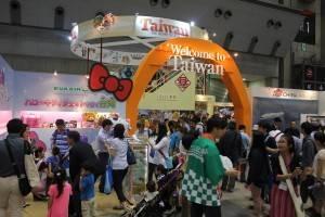 台湾パビリオンの様子