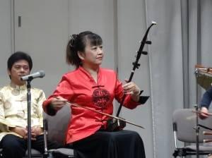 旅日二胡演奏家魏麗玲推廣傳統國樂之餘、對台日文化交流不遺餘力