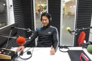 台湾テレビ旅番組「大口吃遍台灣」の専属カメラマン・立川幹二朗さん