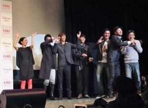 Rake和中孝介現場演唱電影主題曲,Rake特別找魏德聖一起合唱