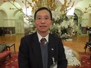台北律師公会の黄旭田理事長