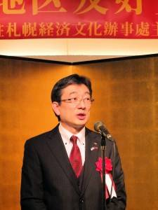 北海道日台親善協會聯合會會長木村勇介希望日本民眾可以透過欣賞台灣電影《KANO》,更加了解台灣