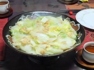 開陽白菜(白菜と干しエビの煮物)