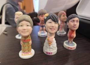大頭貼專門店「brooming」提供迷你3D雕像的服務,價格從3000日幣起跳
