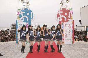 NMB48成員出席開幕典禮(照片提供:沖繩國際電影節)