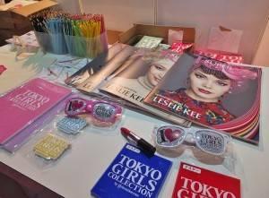 TGC10周年場邊也特別販賣紀念商品,其中還有知名攝影師LESLIE KEE拍攝的特別專刊