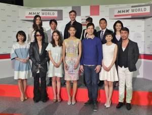 NHK召開記者會介紹在世界台播出的人氣節目和今年度將開設的新節目主持人