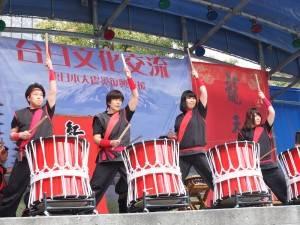 赤富士太鼓