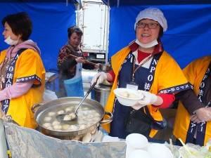 会場内には台湾精進料理の屋台が沢山出展
