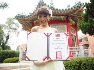 獲封「TNA美甲親善大使」的日本女星南明奈表示,希望可以促進台日兩地的美甲交流