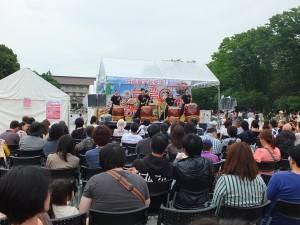 ステージでは日台双方の演目が行われた
