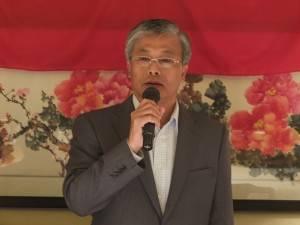 台北駐日経済文化代表処の陳調和副代表
