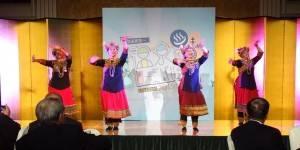 排灣族舞蹈為晚會揭幕