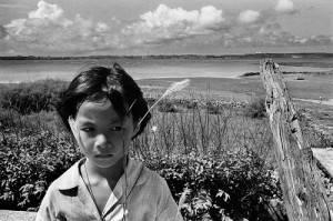 作品攝於澎湖望安 ,1983年(照片提供:台灣文化中心)