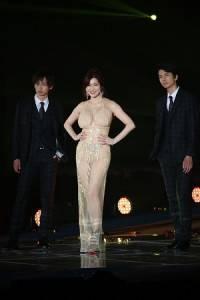 叶美香登場為「BoysAward」選秀站台