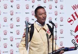 澀谷區長長谷部健大力支持這次的街頭清掃活動