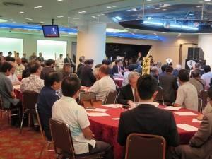 那霸日台親善協會成立,有超過百名以上的會員出席