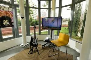 音楽室もあり、楽器の練習にも対応(提供:新北市立図書館)