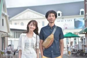 主演を務める中野裕太さん(右)と、簡嫚書(ジエン・マンシュー)さん