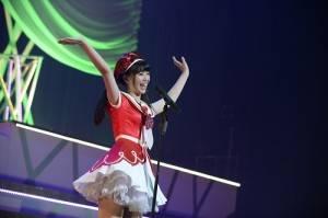 馬嘉伶獨自登台演唱AKB48的《無限重播》,用生澀的日文和現場歌迷打招呼(照片提供:AKS)