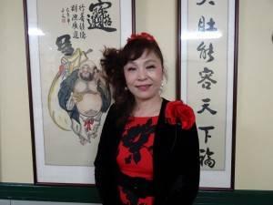 第23屆世界台灣商會聯合總會總會長候選人 謝美香