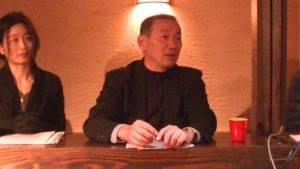 宏大貿易株式會社代表取締役清水泰宏遠從靜岡來參加橫濱台商會